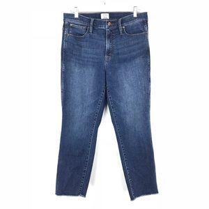 J. Crew Sz 31 Vintage Straight Cut Hem Jeans